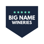 Winery badge - famous wineries