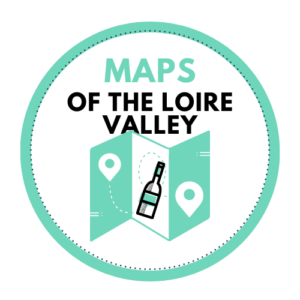 Loire Valley vineyards map - Winery maps