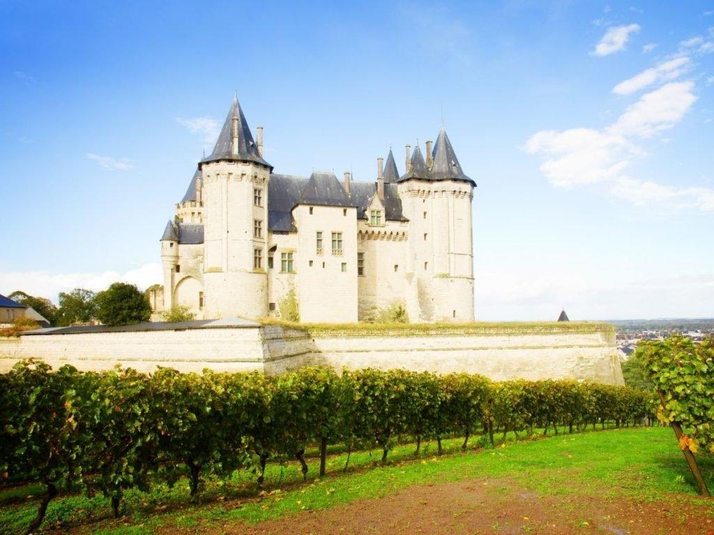Saumur - The castle - Loire Valley wine route
