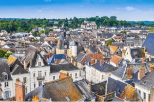 Visiting Amboise: the roofs of the city