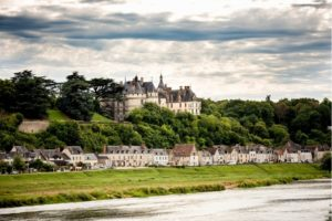 Chaumont-sur-Loire, a charming village on the Loire overlooked by the castle